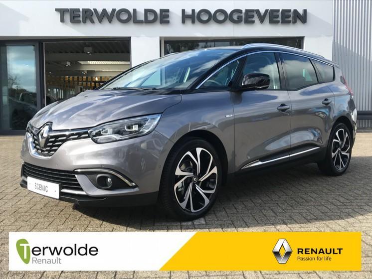 Renault Grand scénic 1.3tce 140pk gpf bose 7pers. € 2.856,- korting! financieren tegen 2,9% rente! uit vooraad leverbaar!