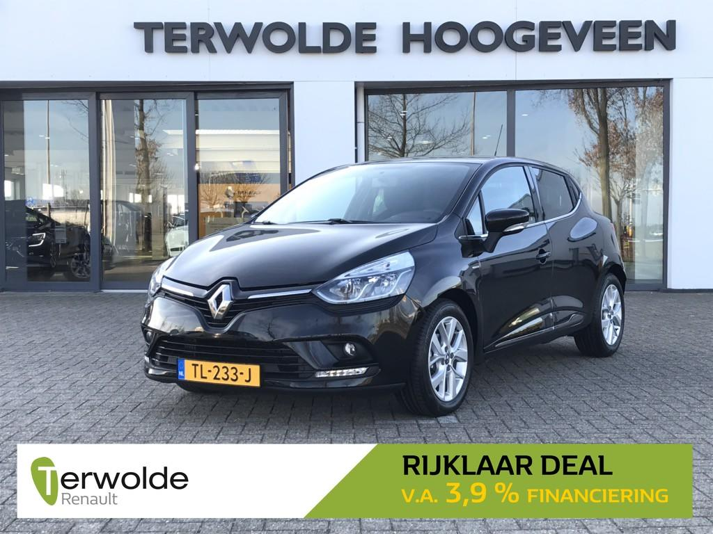 Renault Clio 1.5dci 90pk ecoleader limited airco/ cruise control/ navigatie