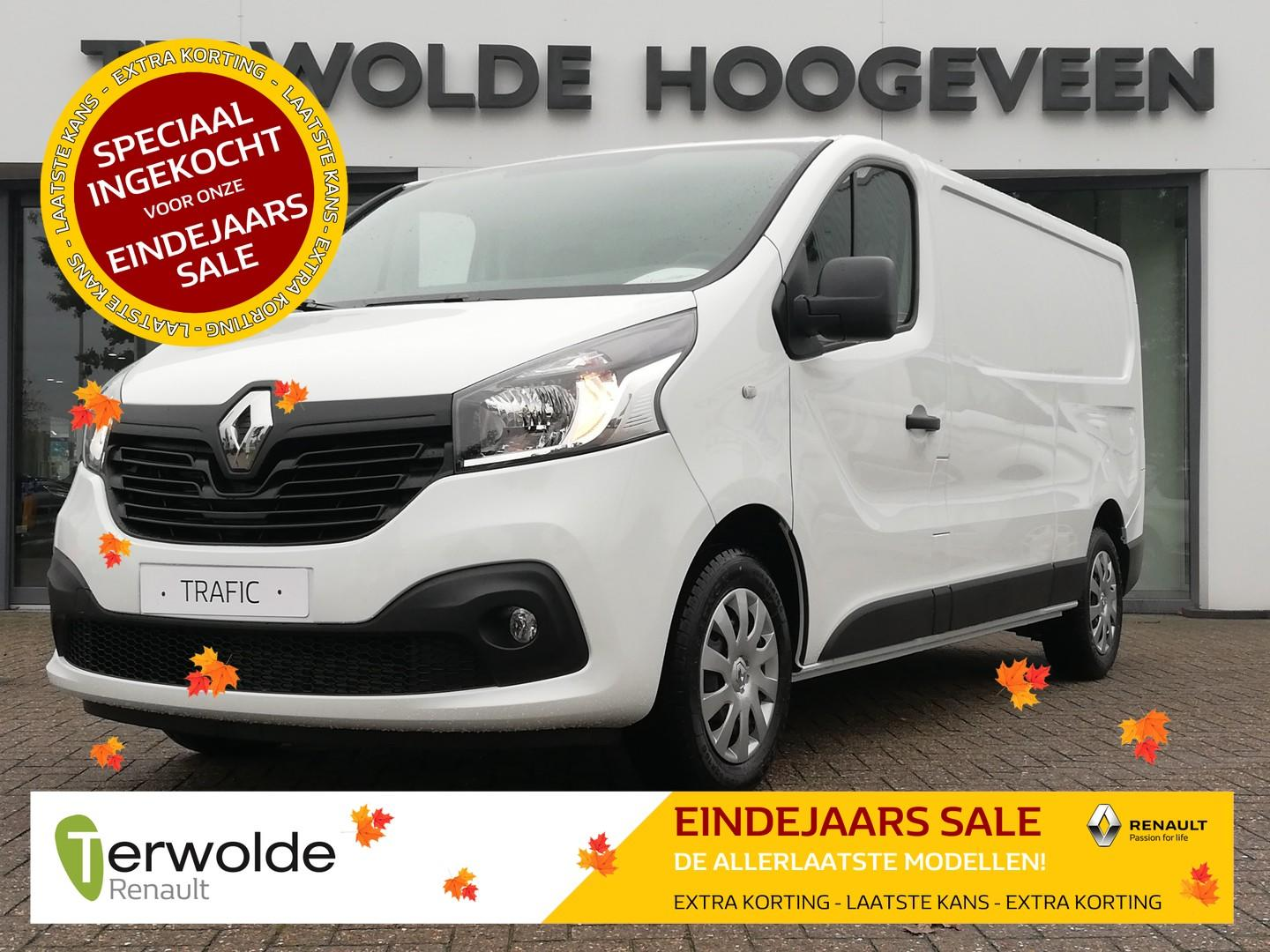 Renault Trafic 1.6dci 125pk t29 l2h1 work edition nedc 29% korting! €7577,-! financial lease tegen 0% rente!