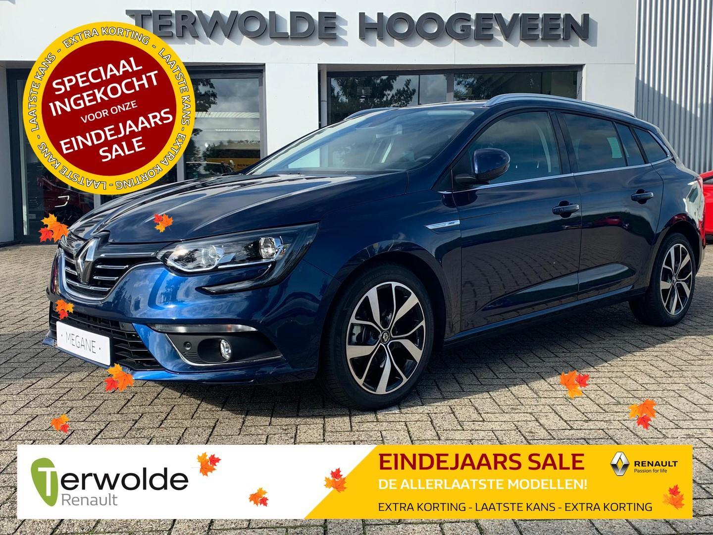 Renault Mégane Estate 115pk 1.5 blue dci bose €4.269,-korting! financiering tegen 3,9% rente! uit voorraad!