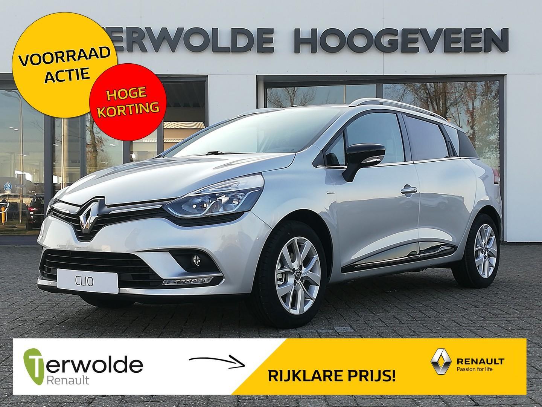 Renault Clio Estate 0.9tce 90pk limited binnenkort verwacht! €2.741,- korting! financiering tegen 3,9% rente! private lease mogelijk!