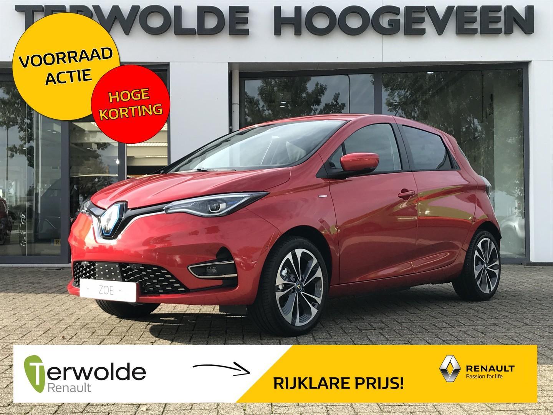 Renault Zoe R135 edition one 50 (ex accu) €1.500,- korting! financiering 2,5% rente! gratis laadpaal! uit voorraad leverbaar!