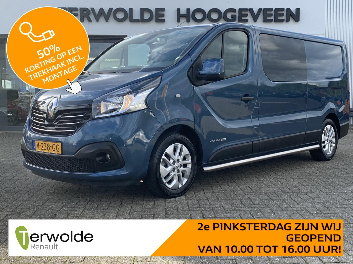 Renault Trafic Dubbel cabine 1.6dci 145pk t29 l2h1 dc luxe