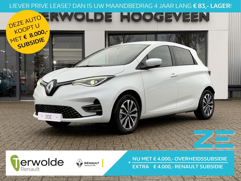 Renault Zoe R135 edition one batterijkoop profiteer nu van €4000,- renault subsidie ! financiering 2,5% rente! laadpaal vergoeding!