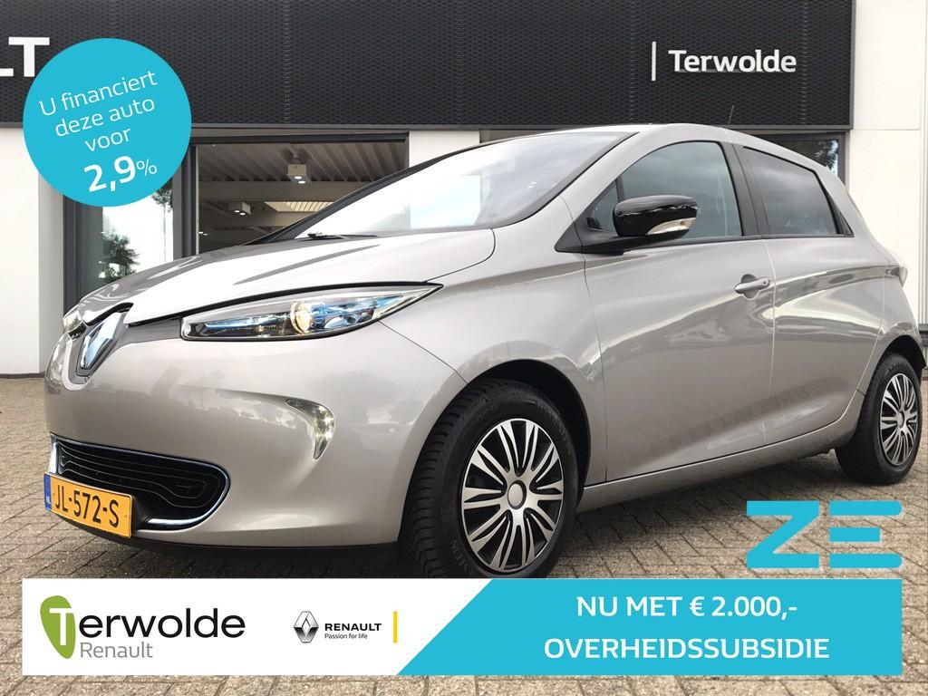 Renault Zoe Q210 zen quickcharge 22 kwh (ex accu) €2.000,- overheidssubsidie!