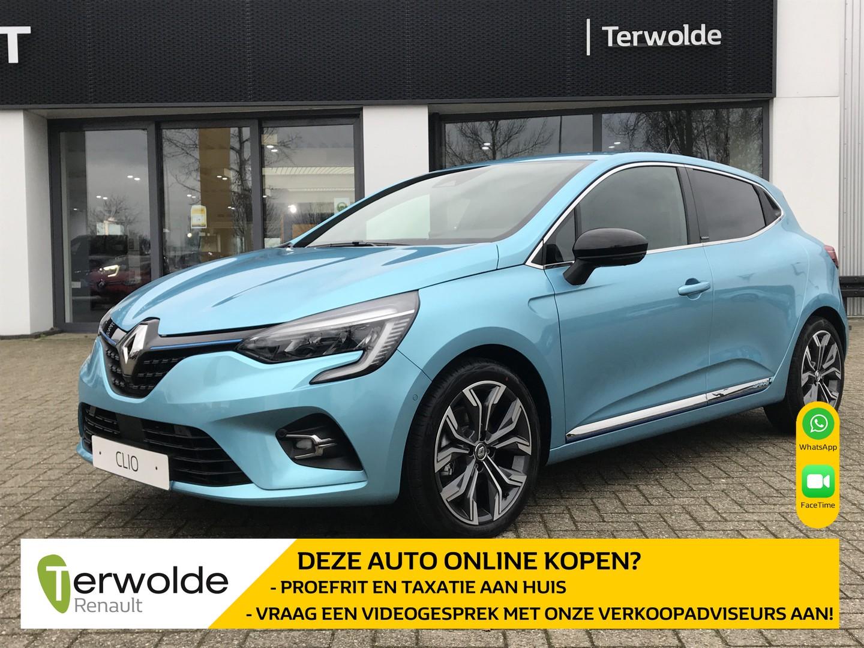 Renault Clio 1.6 hybrid 140pk intens €2.021,- korting! financiering tegen 2,9% rente of 50/50 deal! private lease mogelijk!