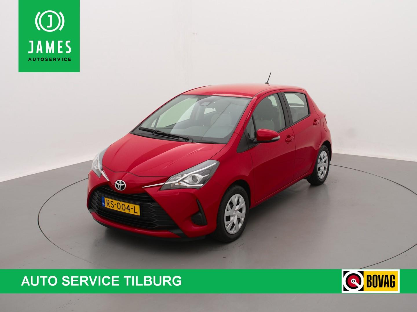 Toyota Yaris 1.0 vvt-i aspiration 5-drs navi camera cruise