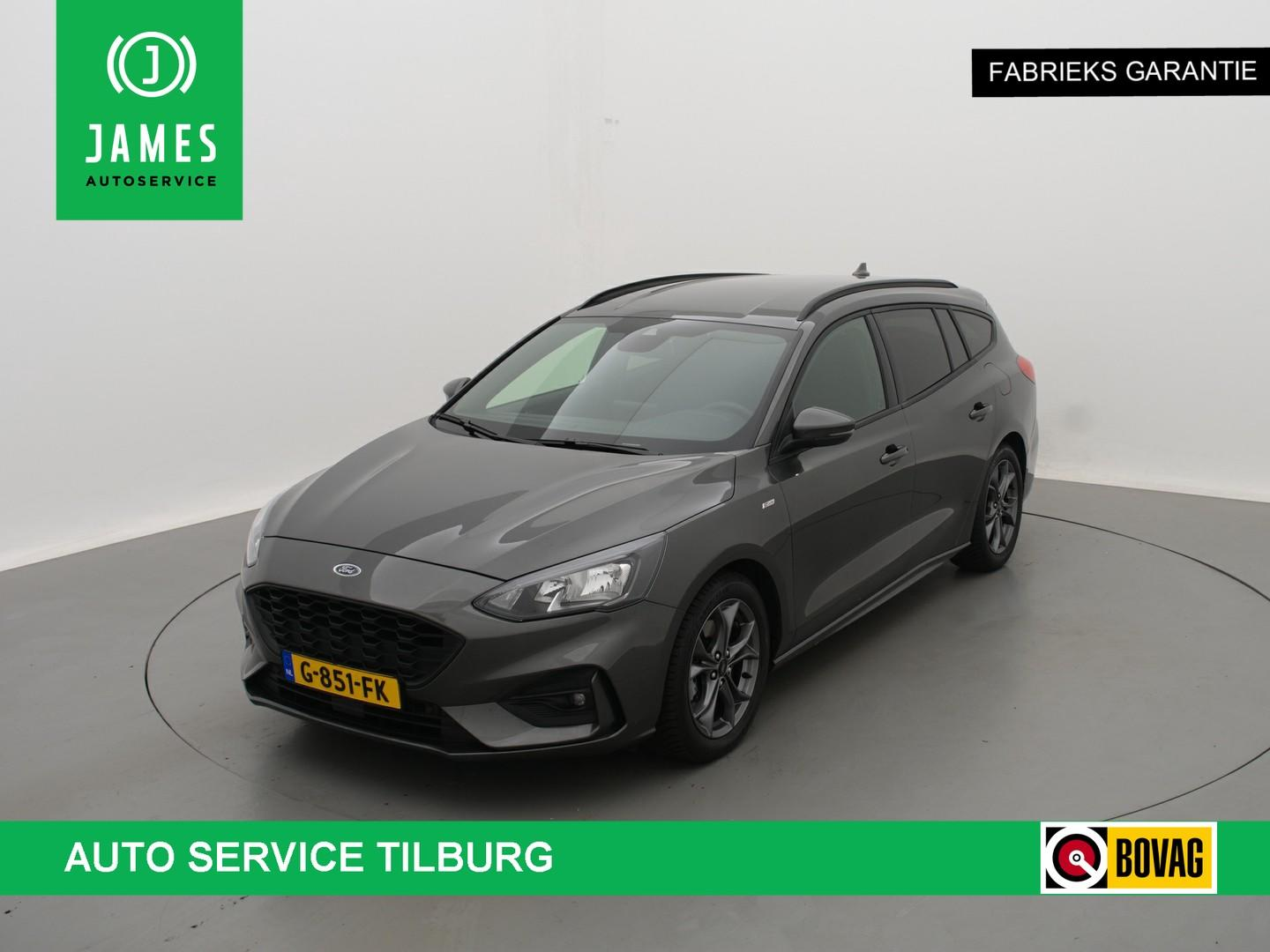 Ford Focus Wagon 1.0 eb automaat *126 pk* st-line navi led cruise winterpack