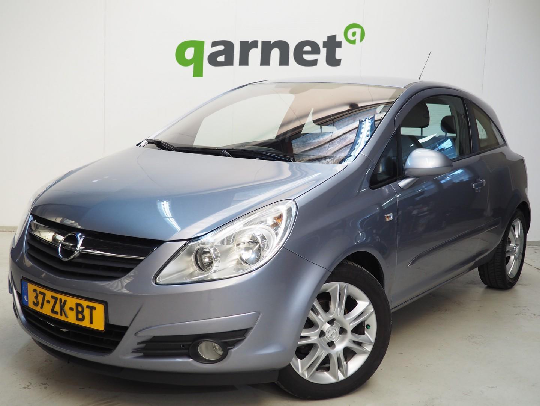 Opel Corsa 1.2-16v cosmo, airco, cruise, parkeersensoren, apk 03-2020!! ,