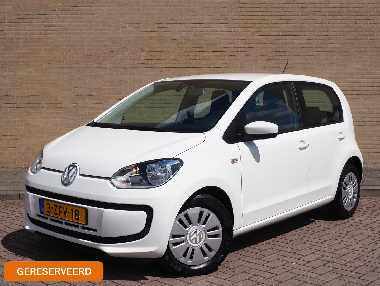 Volkswagen Up! 1.0 move up! bluemotion navigatie, airco, apk 01-2021, trekhaak afneembaar