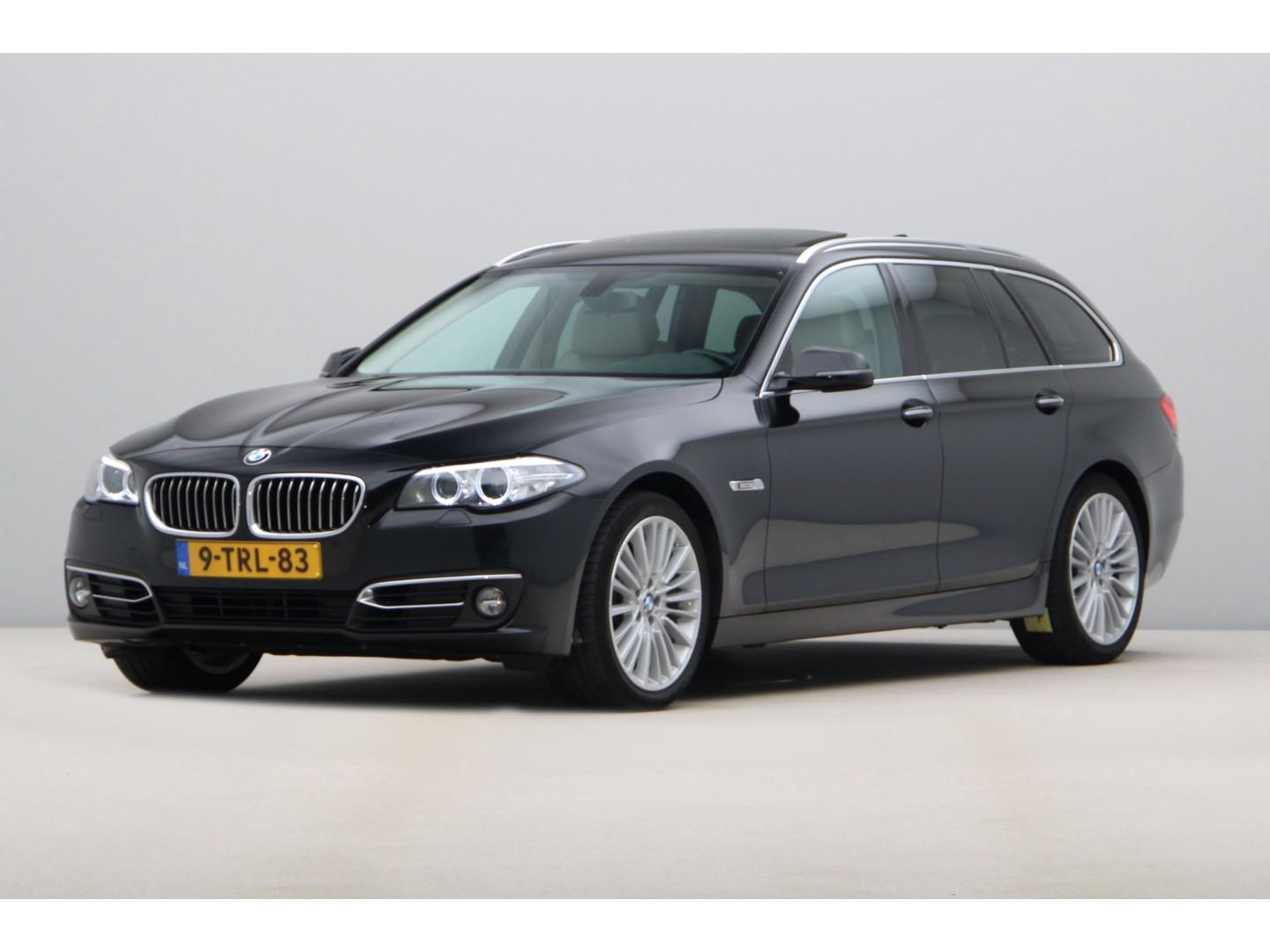 Bmw 5 serie Touring 520d luxury edition -trekhaak-panodak-leder