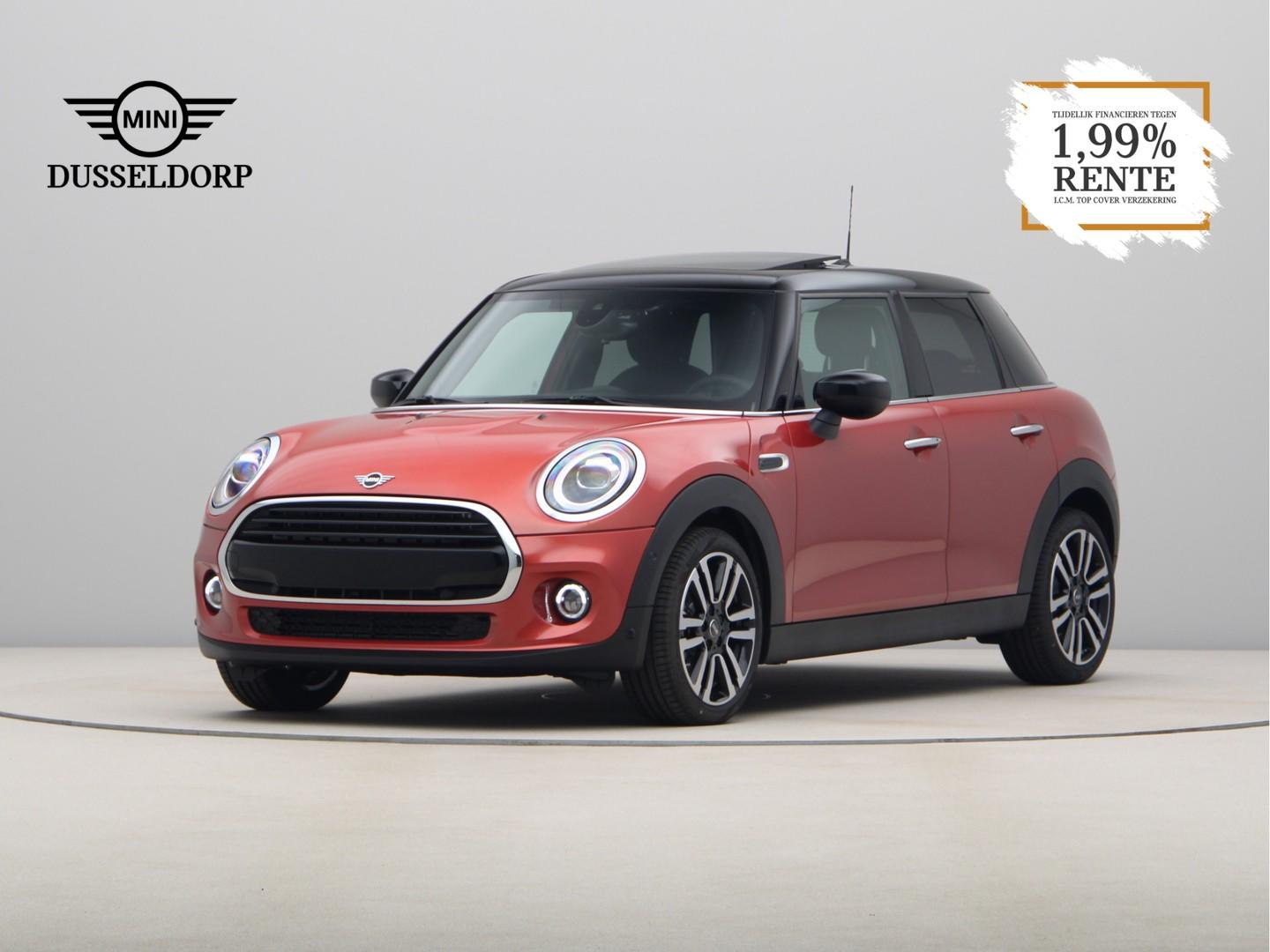 Mini 5-deurs Cooper indian summer red edition aut.