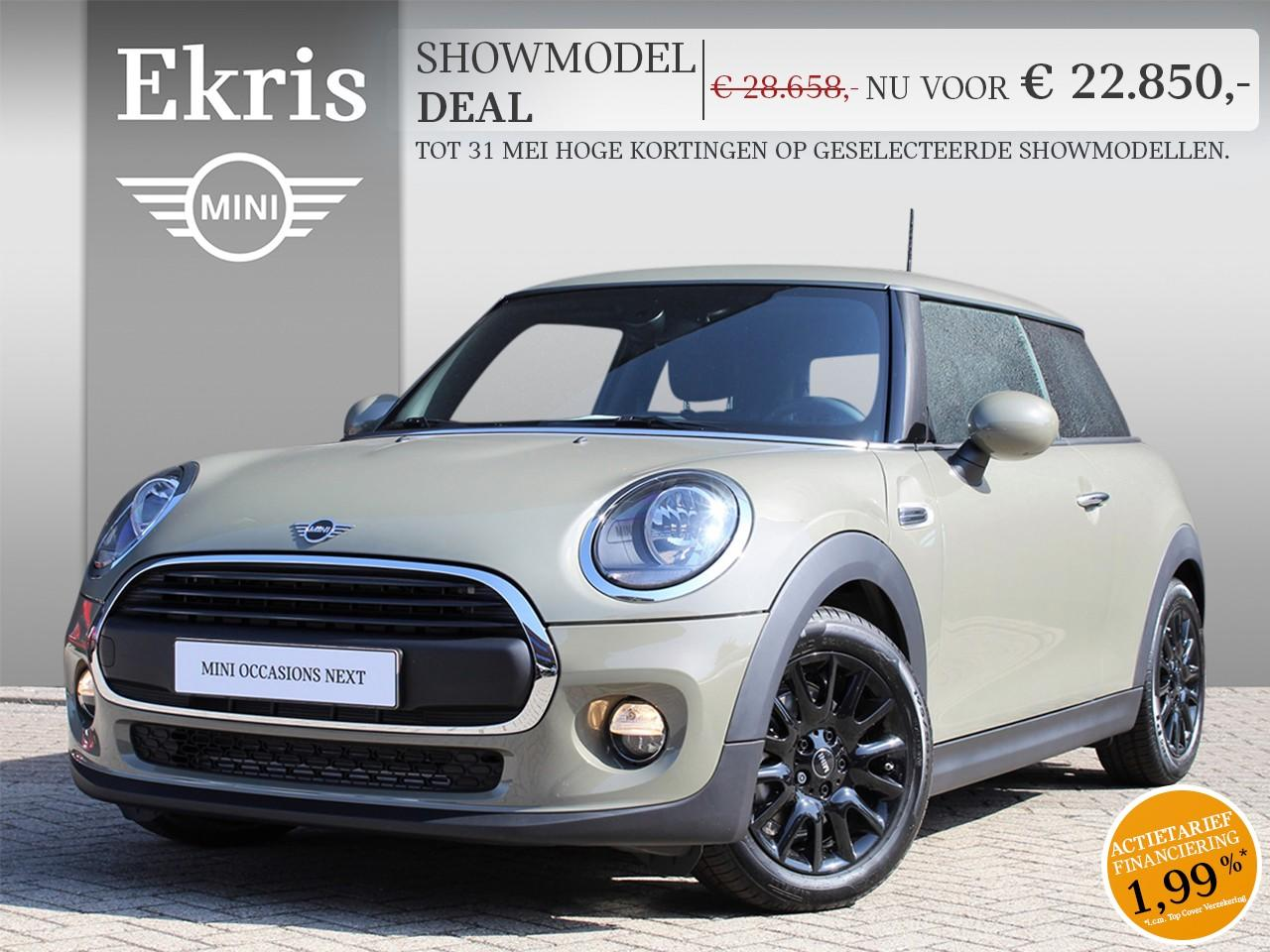 Mini 3-deurs One pepper + business - showmodel deal