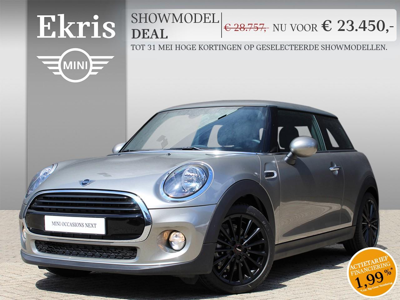 Mini 3-deurs Cooper boost edition - showmodel deal