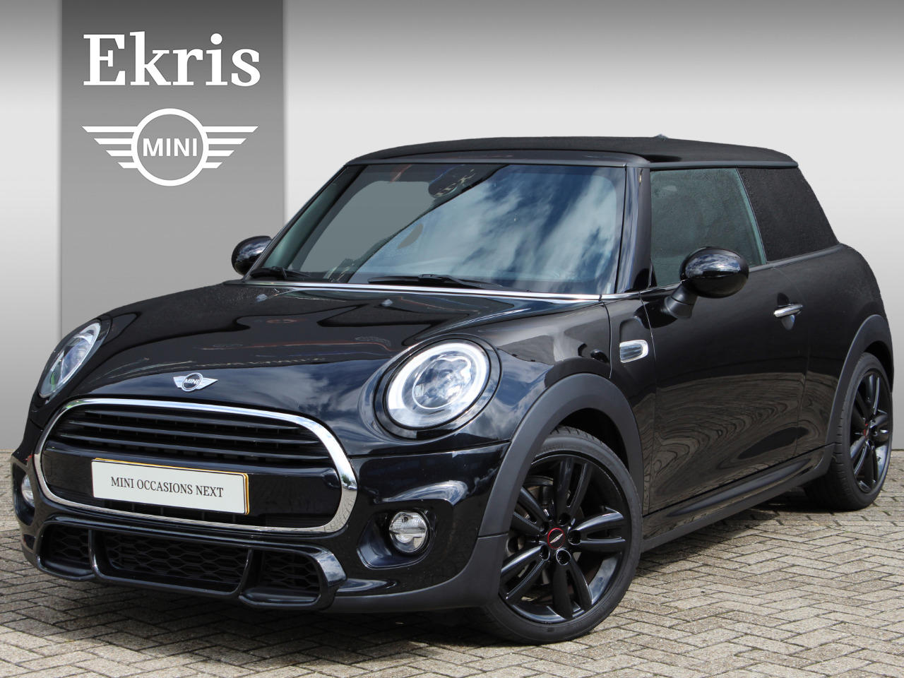 Mini 3-deurs Cooper jcw trim + business plus