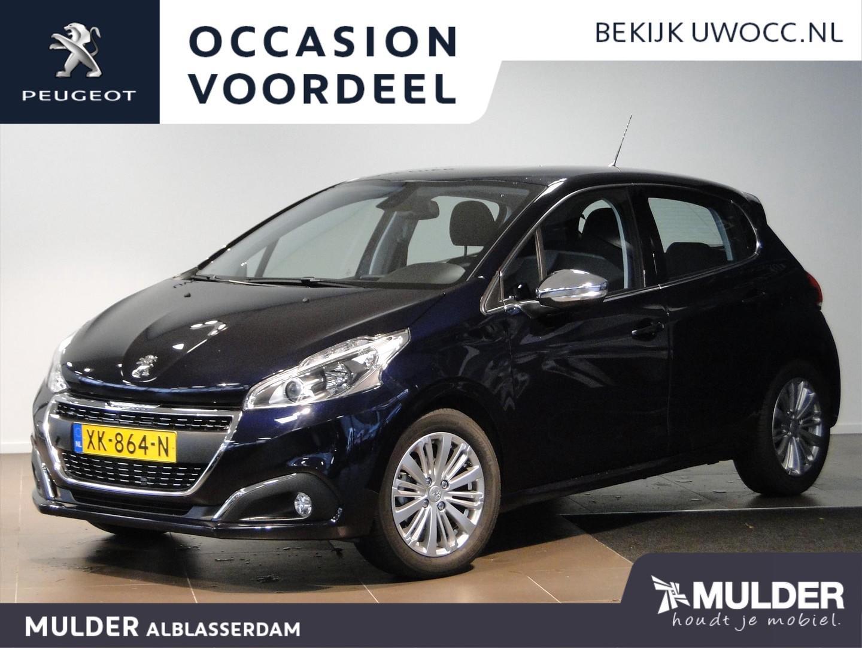 Peugeot 208 Blue lease allure 1.2 82pk navigatie pdc climate controle