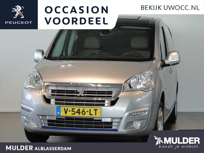 Peugeot Partner Gb premium 1.6 bluehdi 100pk zeer uniek: leder