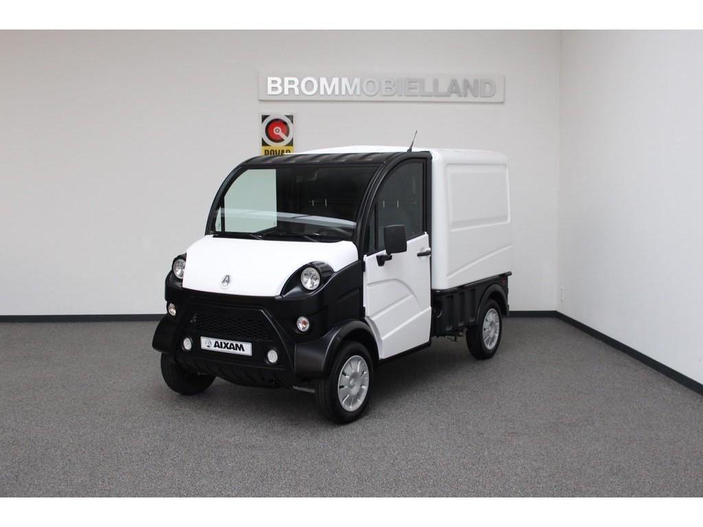 Aixam  E-truck 400 van model 2020 ⛔ 100% elektrisch ⛔  brommobiel 45km auto