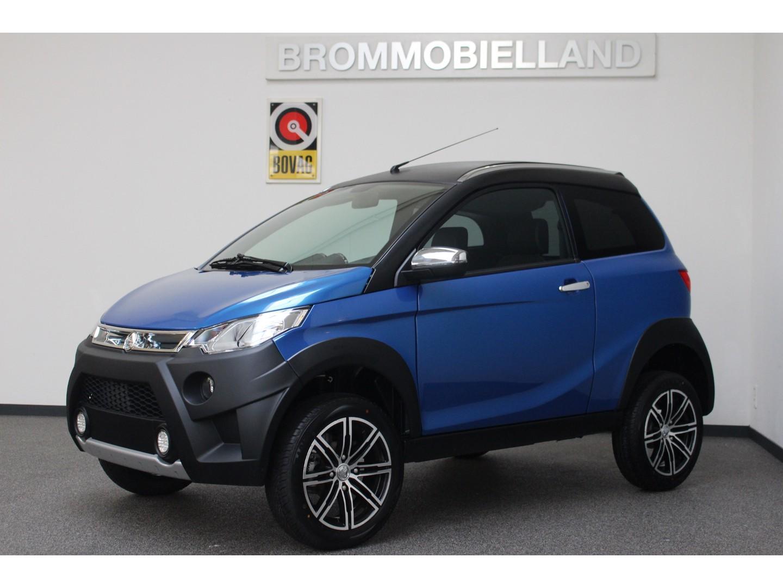Aixam Aixam Crossover premium suv model saphier blauw ⛔ brommobiel 45km auto ⛔