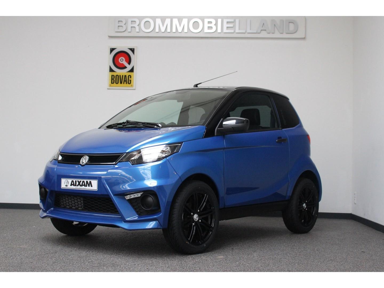 Aixam  City sport saphier blauw abs nieuw 2020 achteruitrijcamera brommobiel 45km auto