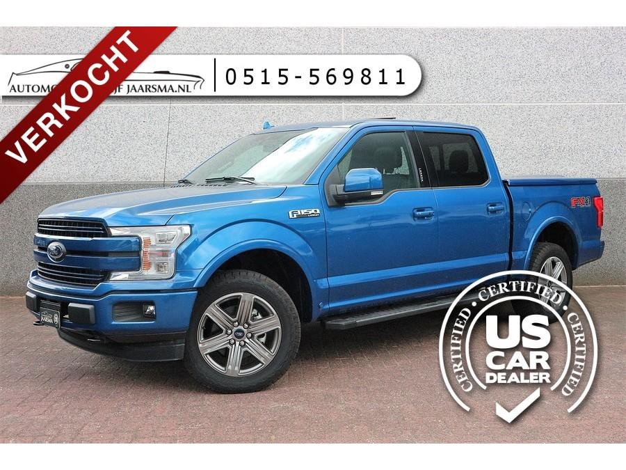 Ford usa F-150 5.0l v8 lariat sport supercrew