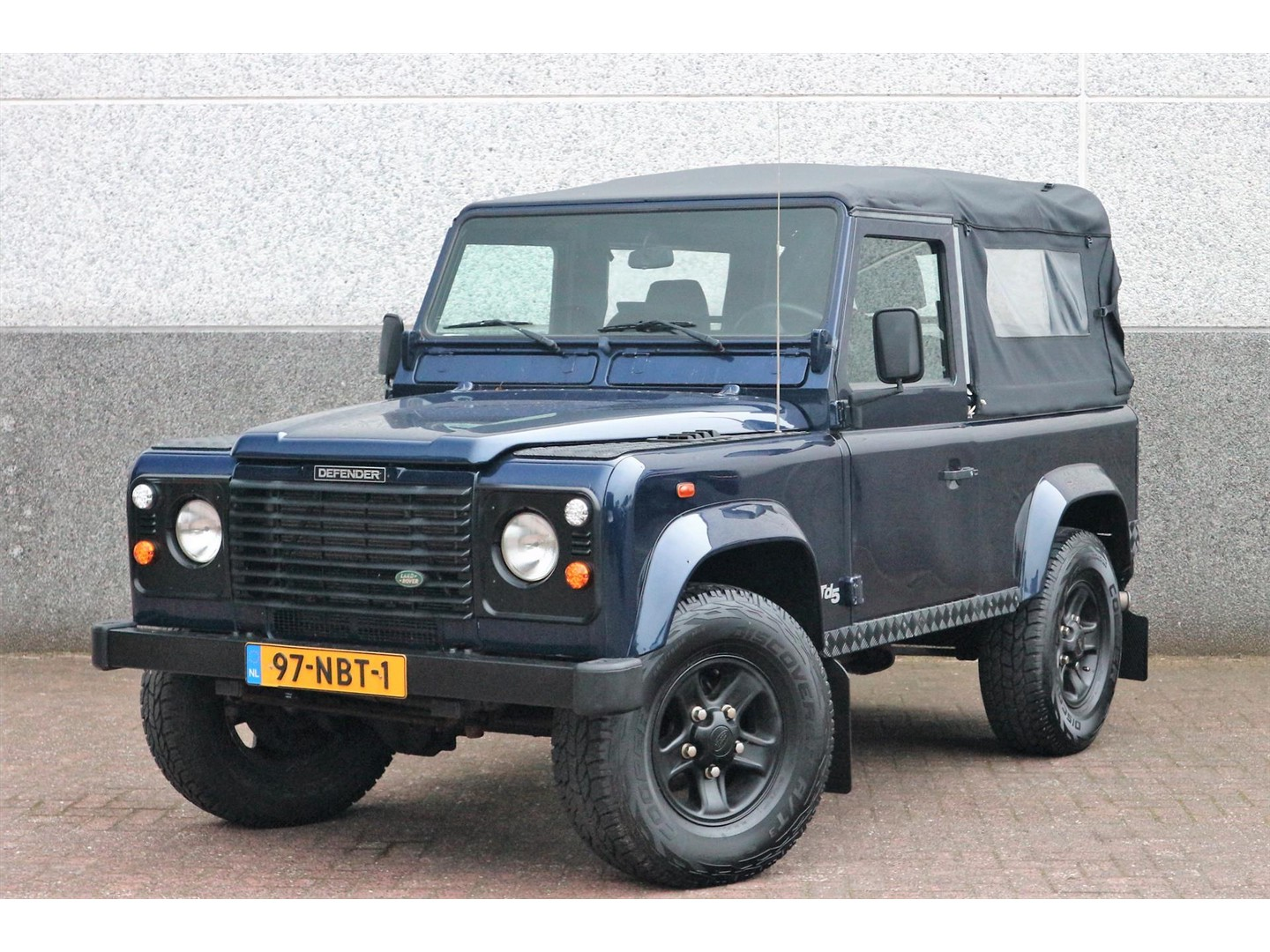 Land rover 90 Td5 softtop