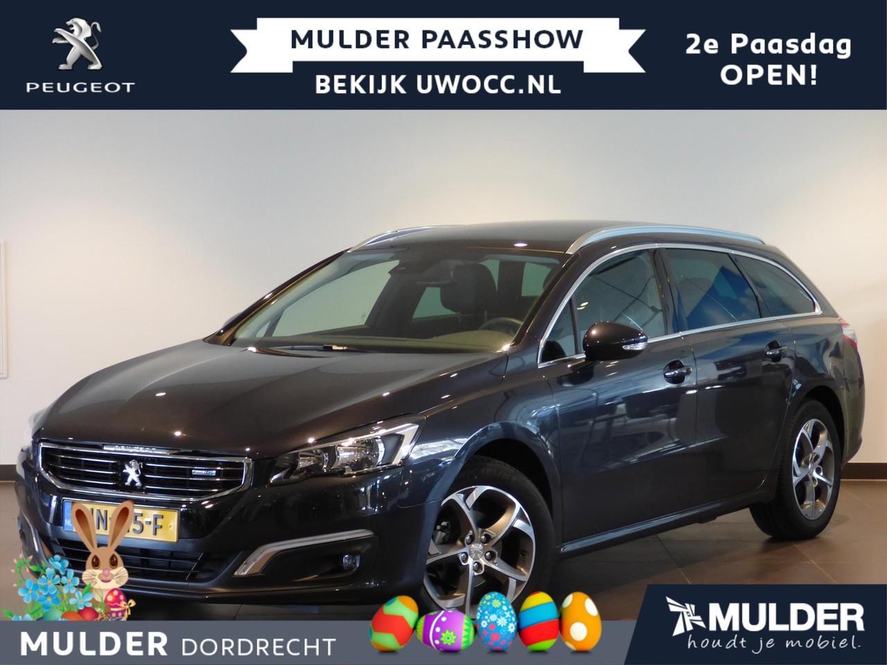 Peugeot 508 Sw 1.6 bluehdi 120pk blue lease executive eat6 automaat