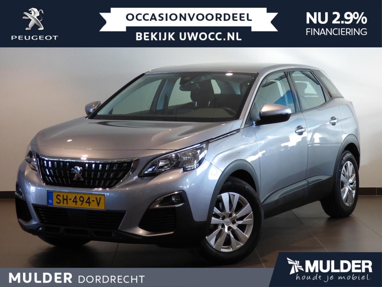 Peugeot 3008 Suv blue lease exec. 1.2 puretech 130pk navi
