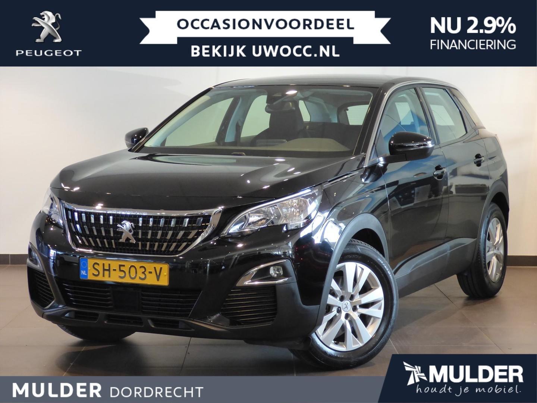 Peugeot 3008 Suv blue lease exec. 1.2 puretech 130pk
