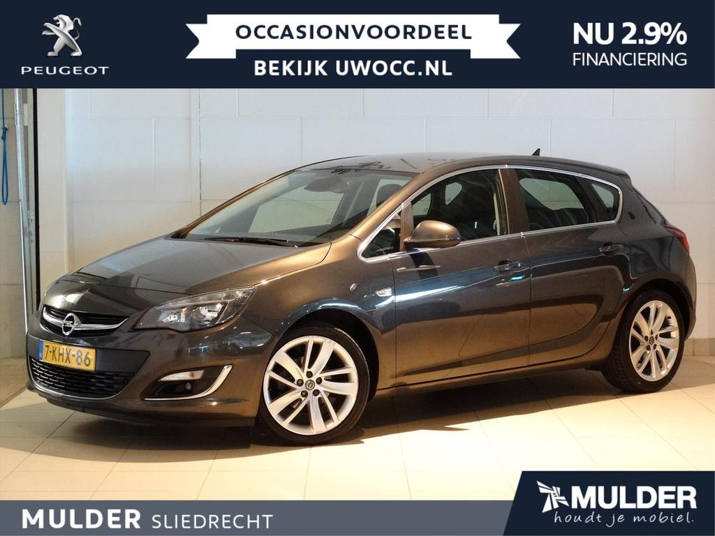 Opel Astra Sport 1.4 turbo 140pk h6 5-deurs navi