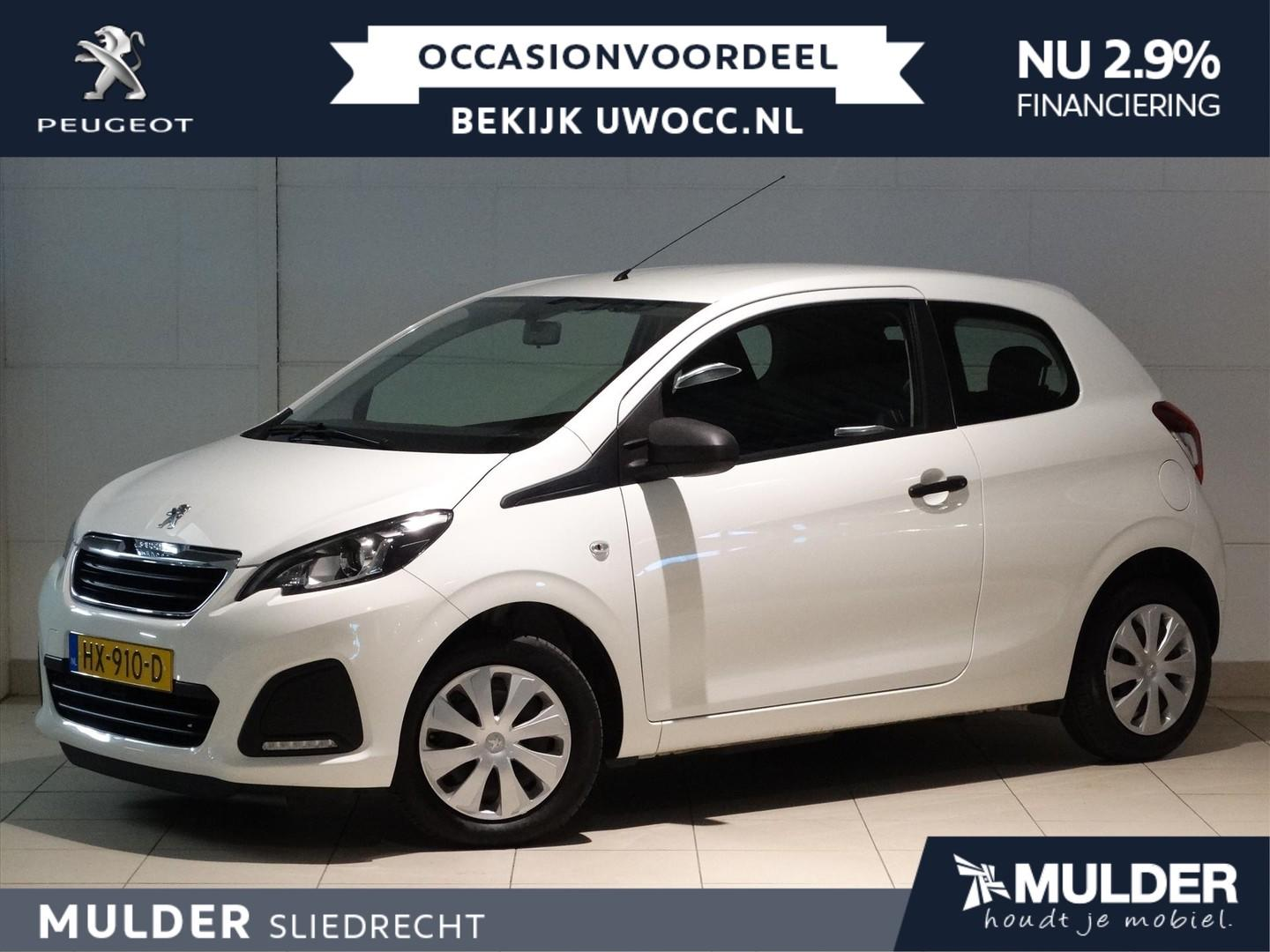 Peugeot 108 Junior 1.0 e-vti 12v 68pk s&s radio/usb