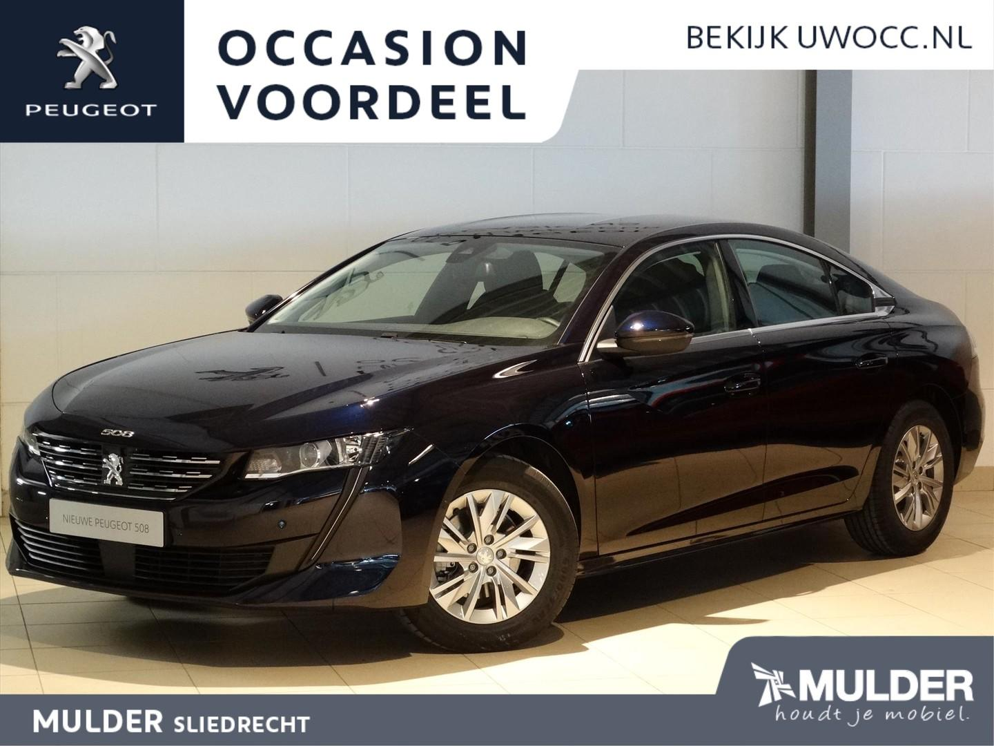 Peugeot 508 Blue lease active 1.5 bluehdi 130pk h6 navi