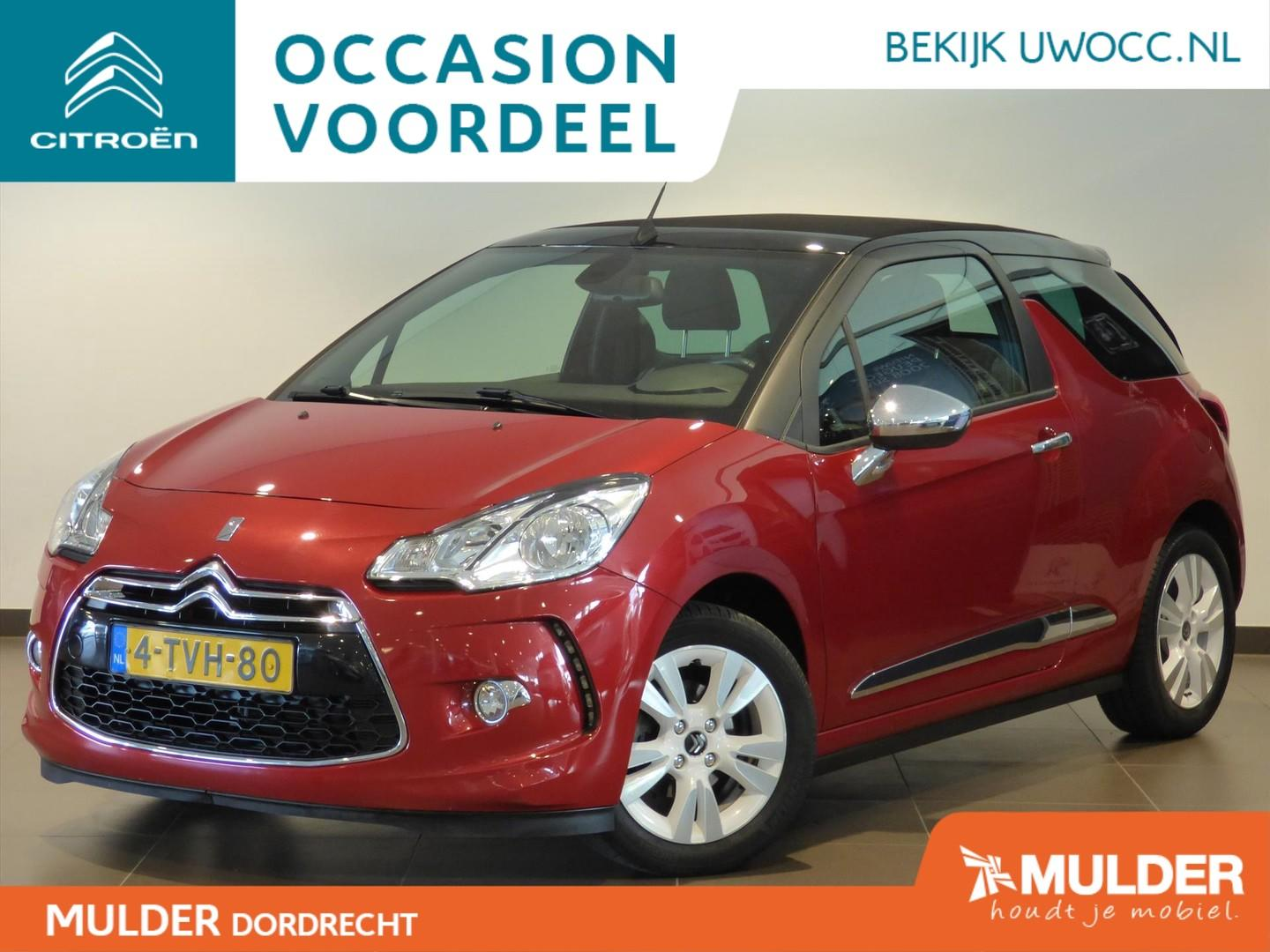 Citroën Ds3 Cabrio so chic 1.2 puretech 82pk navi