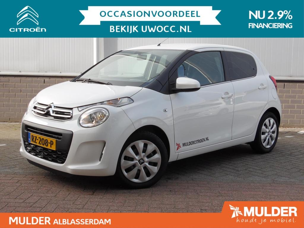 Citroën C1 1.0 e-vti 68 5-drs feel airco bluetooth
