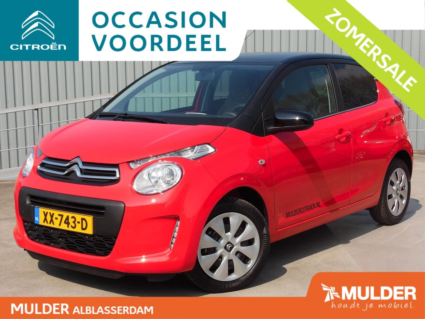 Citroën C1 Feel 1.0 e-vti 72pk two-tone!