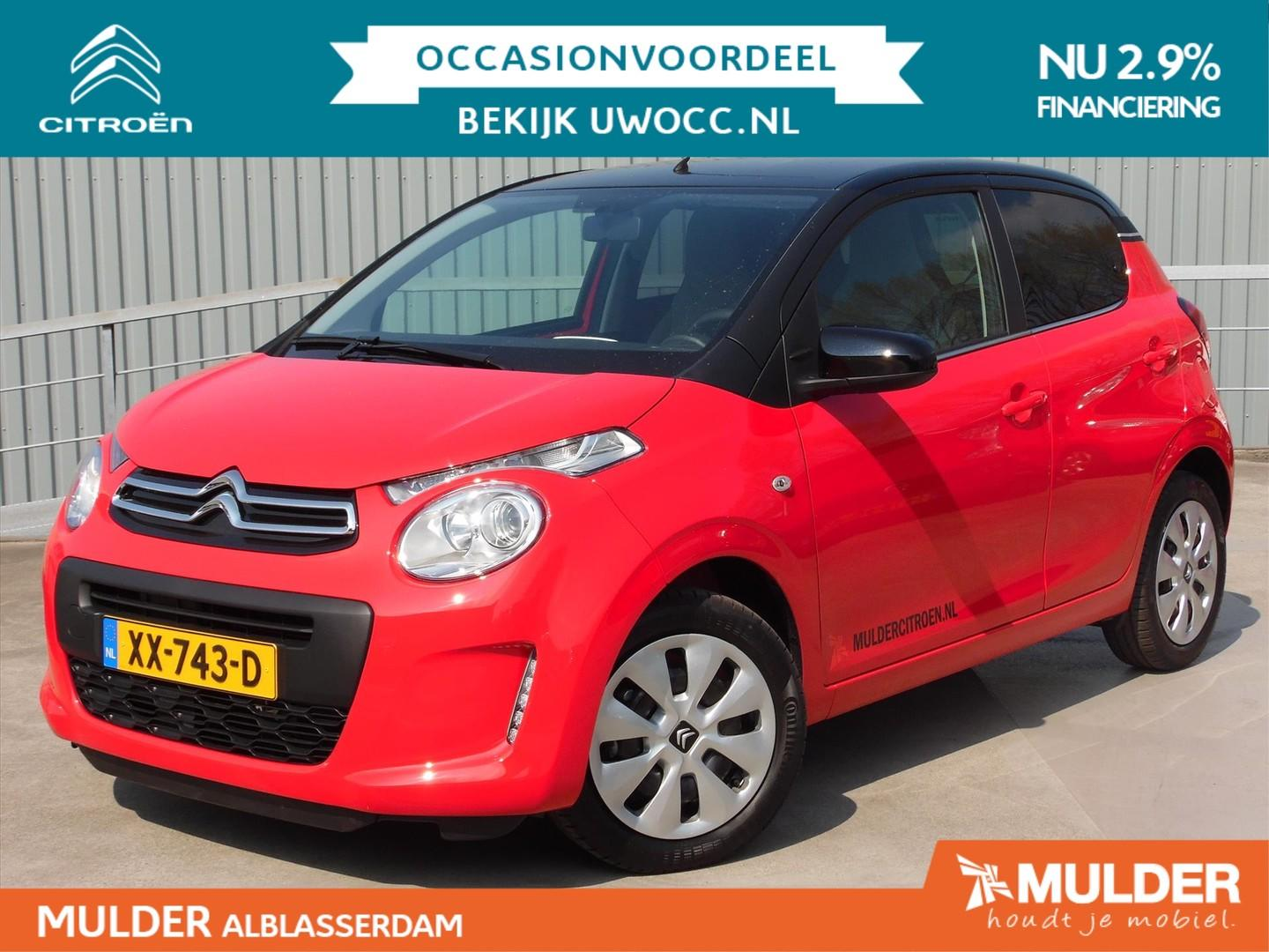 Citroën C1 Feel 1.0 e-vti 72pk two-tone! airco