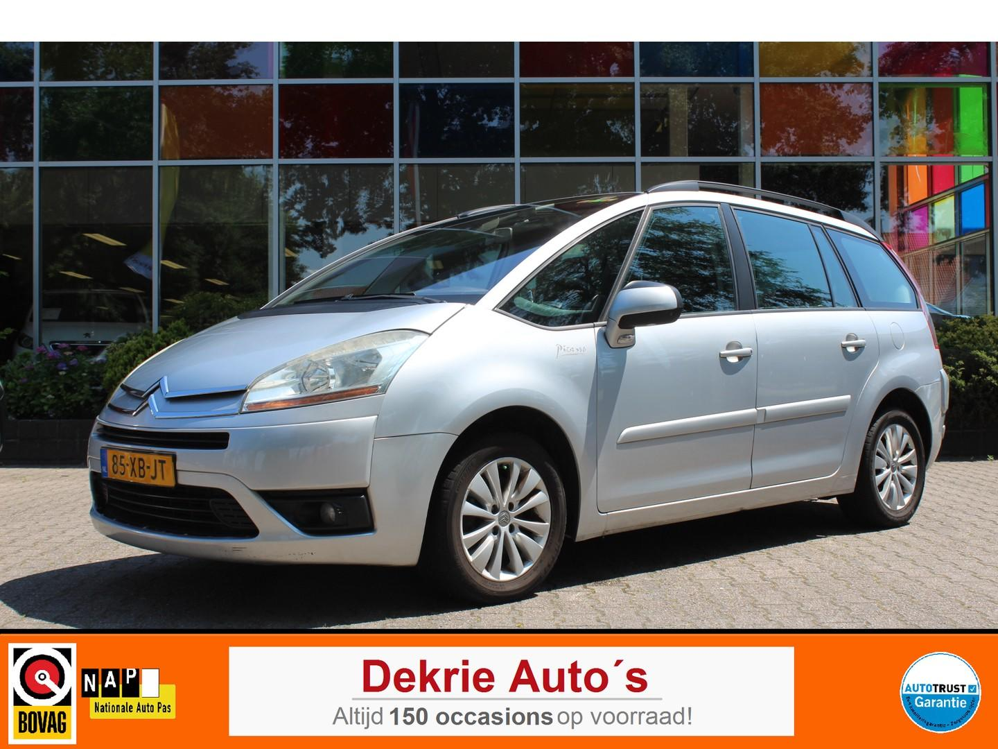 Citroën Grand c4 picasso 2.0-16v ambiance *7-pers.* automaat niet goed