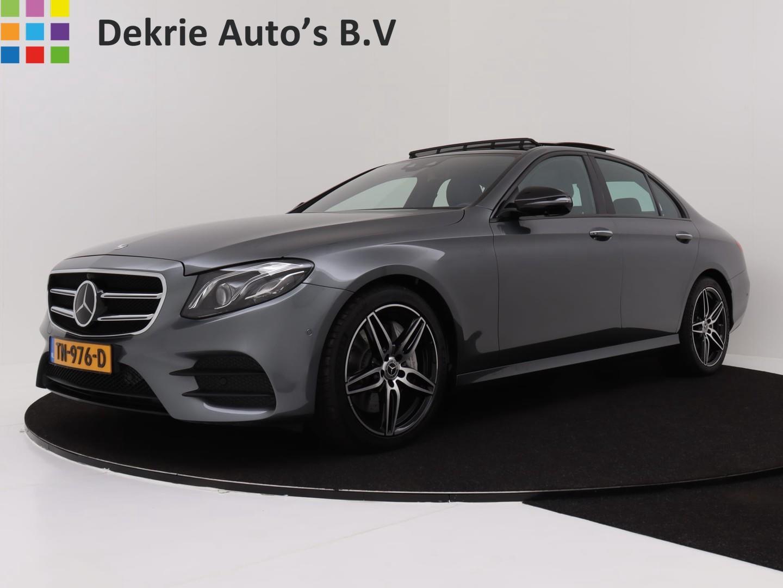 "Mercedes-benz E-klasse 350 d premium plus automaat **110k nieuw** / amg pakket / panoramadak / widescreen / burmeister / leder / 19"" lmv"