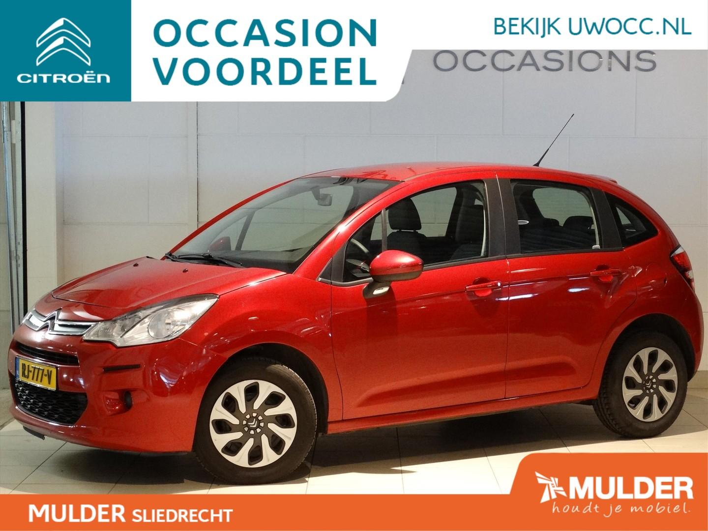 Citroën C3 Attraction 1.0 puretech 68pk 5-deurs radio/cd