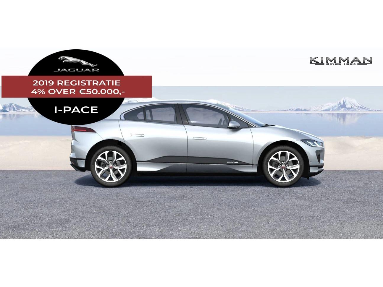 Jaguar I-pace Ev400 400pk awd business edition se 2019 registratie 4% over €50.000