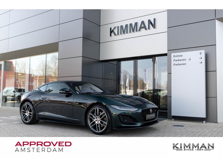 """Jaguar F-type Coupé new r-dynamic p300 automaat rwd 20"""" velgen"""