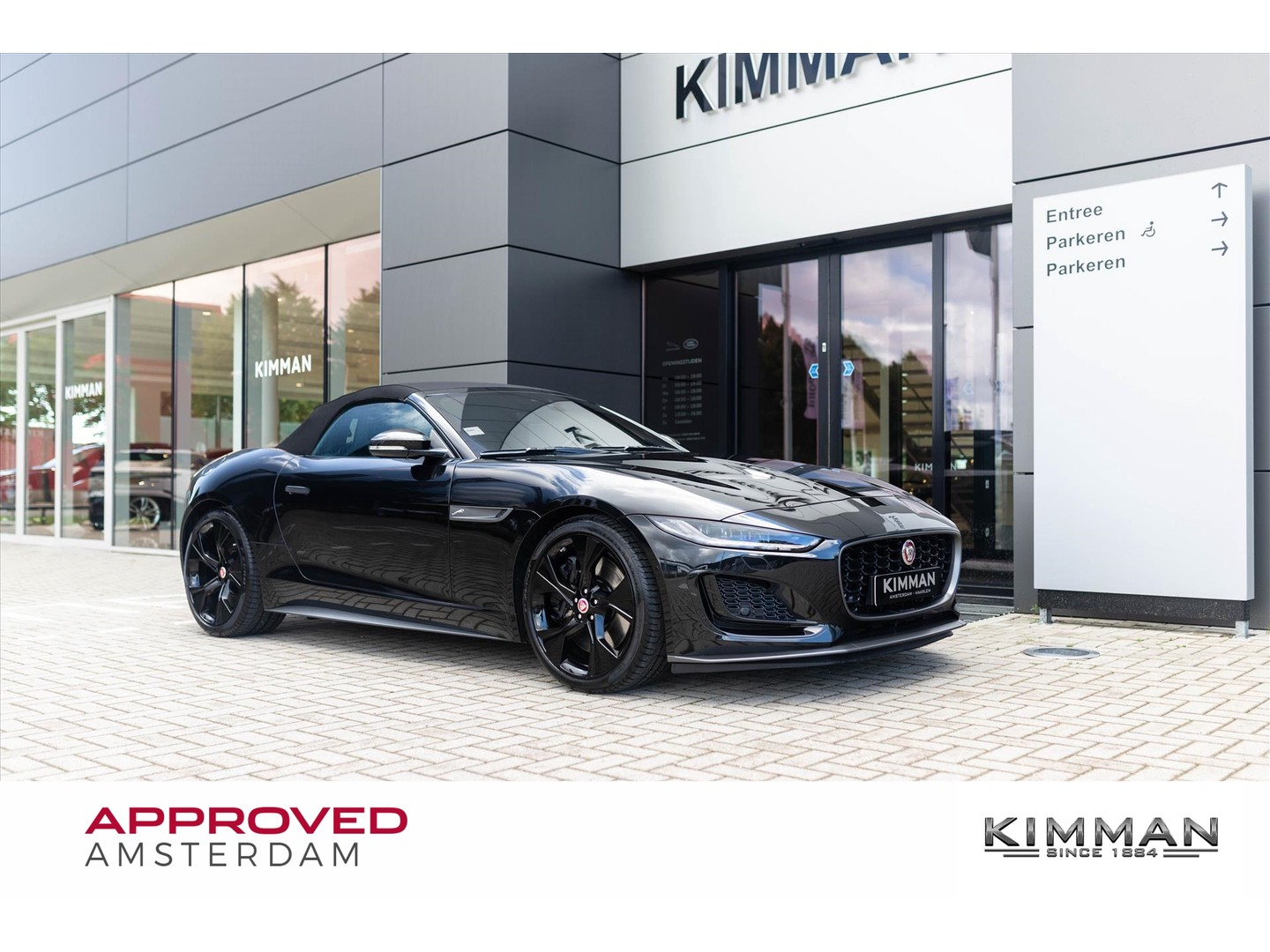 Jaguar F-type Convertible new p450 convertible 450pk awd aut. first edition