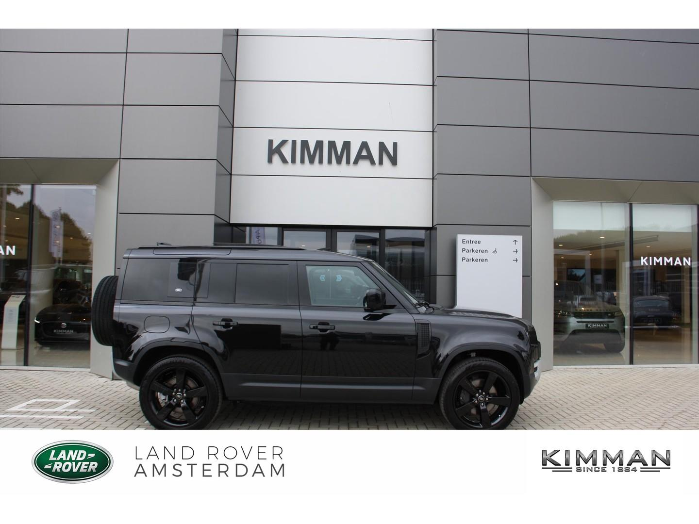 Land rover Defender 110 d240 * 7 zits * €14.000 voordeel!!! se black pack awd