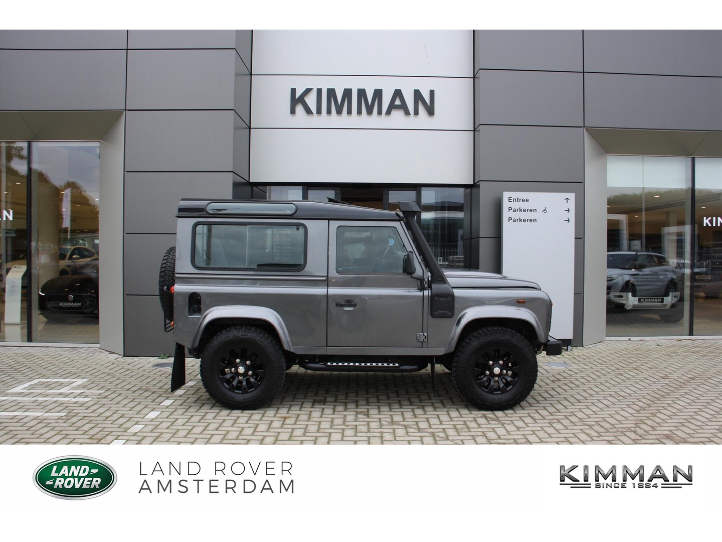 Land rover Defender 90 2.2d x tech 4 persoons !