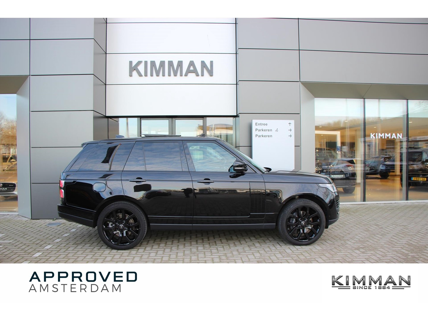 Land rover Range rover P525 5.0 v8 sc autobiography black design pack