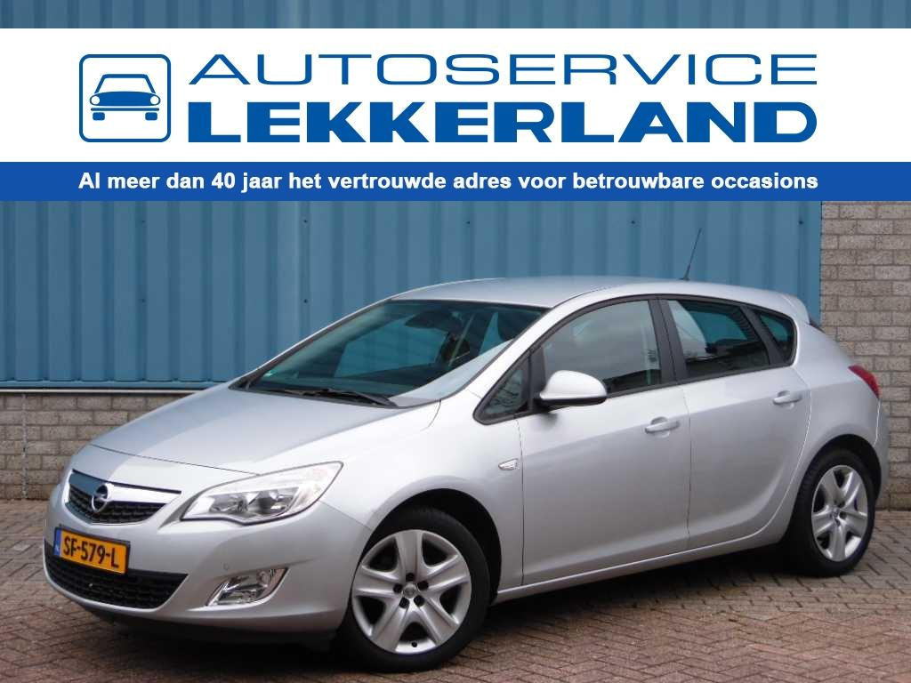 Opel Astra Edition 1.4 turbo 140pk h6 5-drs airco