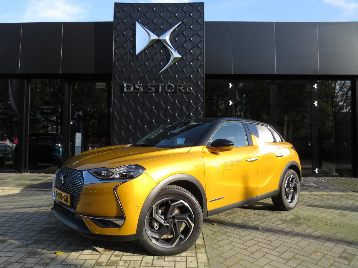 Ds Ds 3 crossback Pt 130pk automaat  grand chic full options