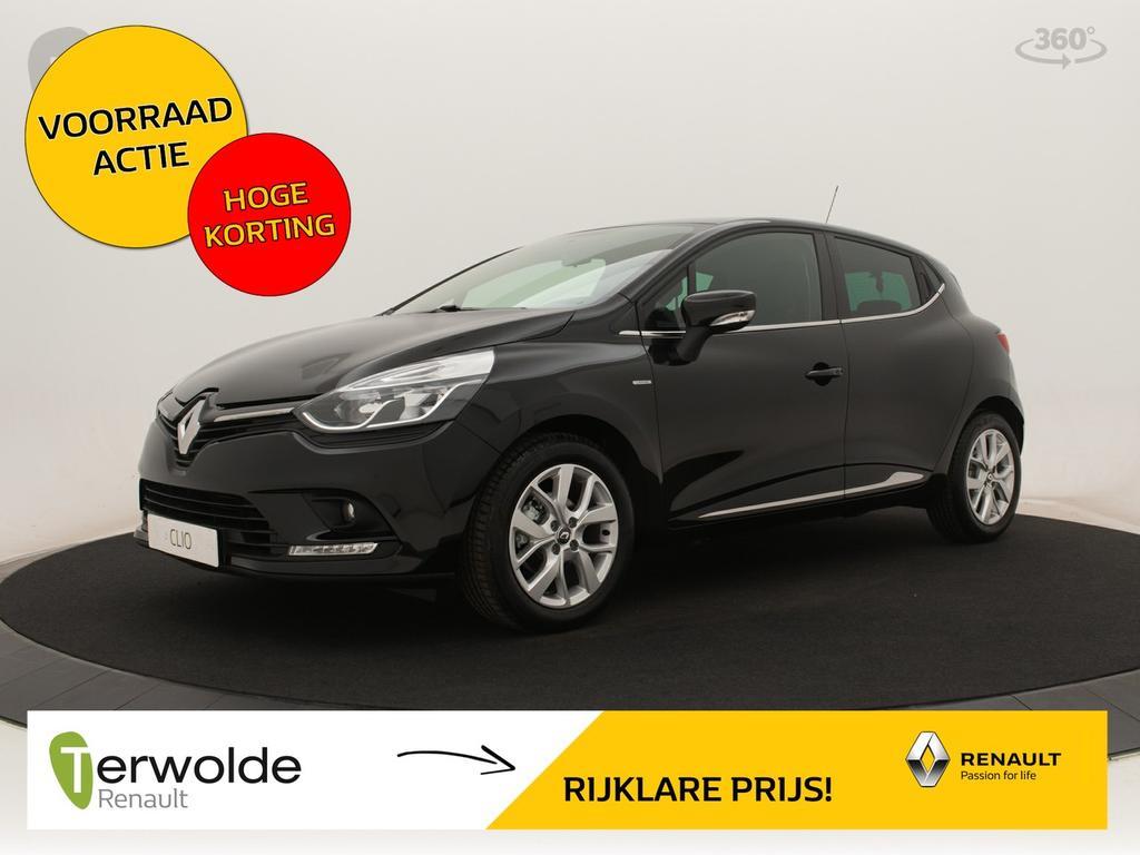 Renault Clio 1.5dci 90pk limited nieuw! €3.460,- korting! financieren tegen 2,9% rente! bpm voordeel!