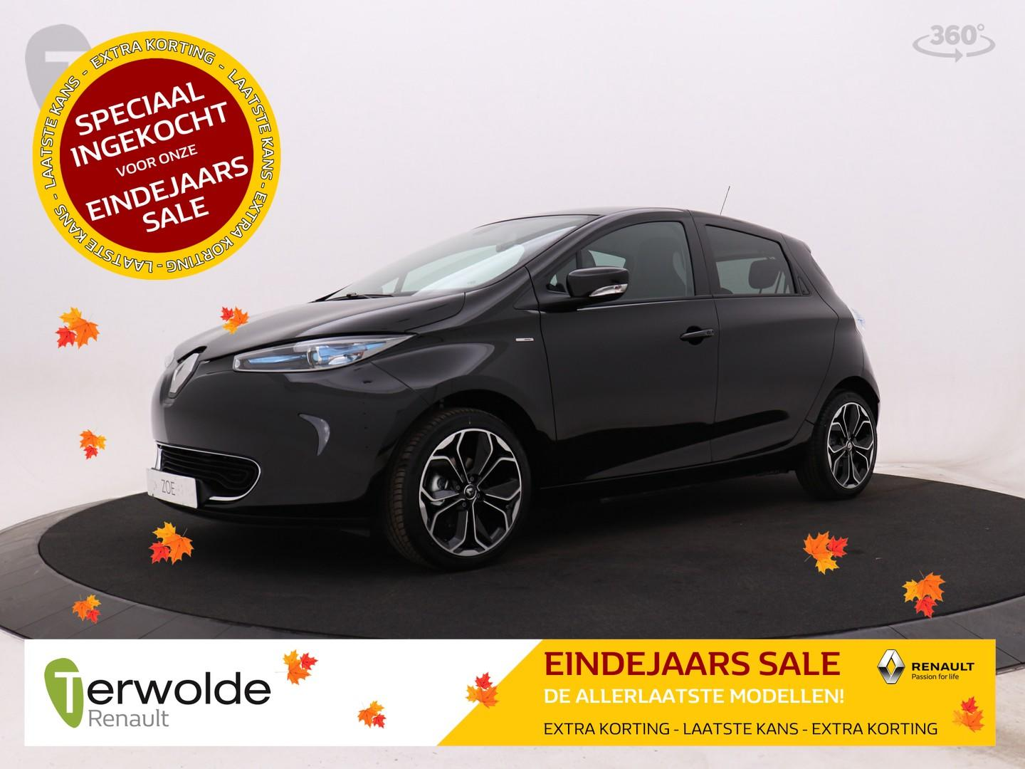 Renault Zoe R110 iconic 41 kwh incl accu