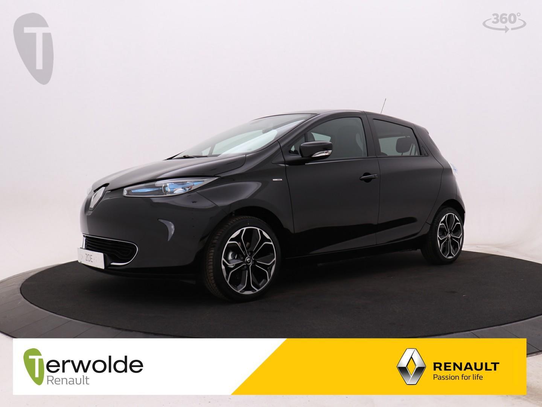 Renault Zoe R110 iconic 41 kwh incl accu 4% bijtelling !! unieke kans , uit voorraadl leverbaar ! gratis laadpunt twv € 1.549 inclusief € 1.